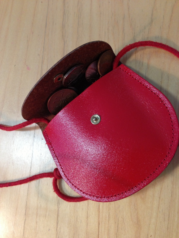 My special egg purse is one I've had since childhood and does the job beautifully